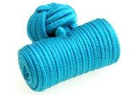 Seidenknoten hellblau