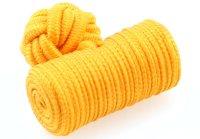 Seidenknoten gelb