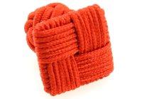 Seidenknoten orange