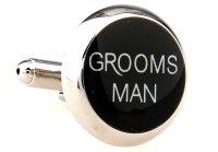 """Hochzeit Manschettenknöpfe """"Grooms Man -..."""