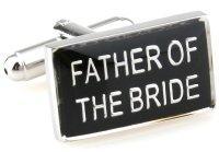 """Hochzeit Manschettenknöpfe """"Father of the Bride..."""